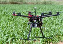 Drone ile tarımsal üretim denetleniyor